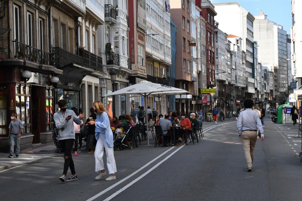 A Coruña celebra el ''Día sin coches'' en San Andrés