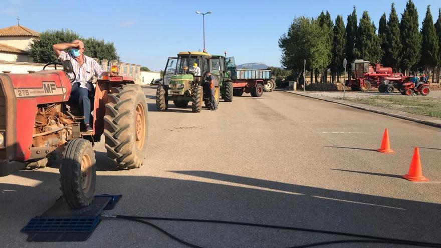 Inspecciones de ITV para vehículos agrícolas en la Part Forana
