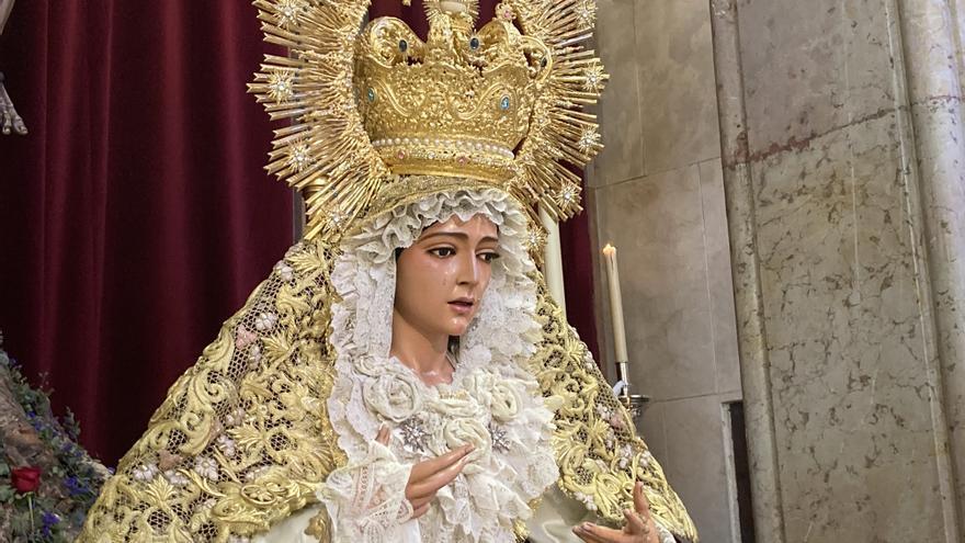 Imágenes del Domingo de Ramos de la Semana Santa de  Málaga 2021