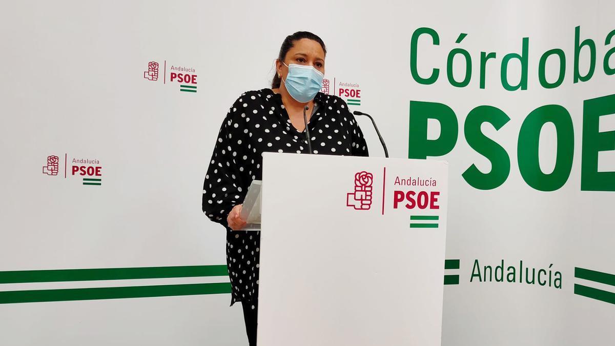La vicesecretaros del PSOE andaluz, Lola AMO.