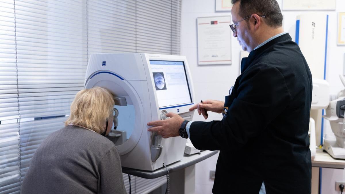 Optipunt disposa de tecnologia per detectar el glaucoma.