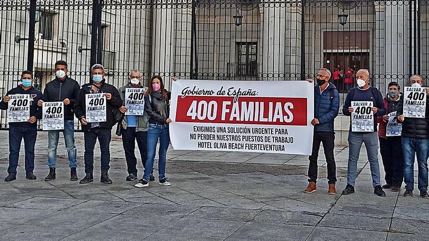Los trabajadores del Oliva Beach demandan al Estado celeridad para el proyecto de reforma