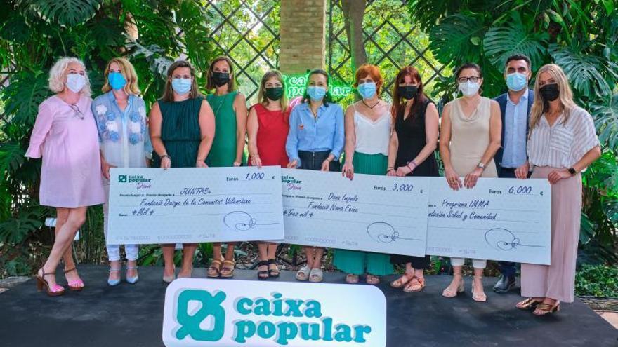 Caixa Popular entrega els 10.000 € de les Ajudes per la Igualtat