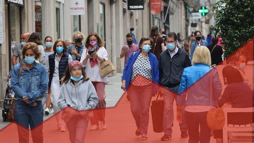 El área de Vigo detectó más contagios en tres días que en todo el verano anterior