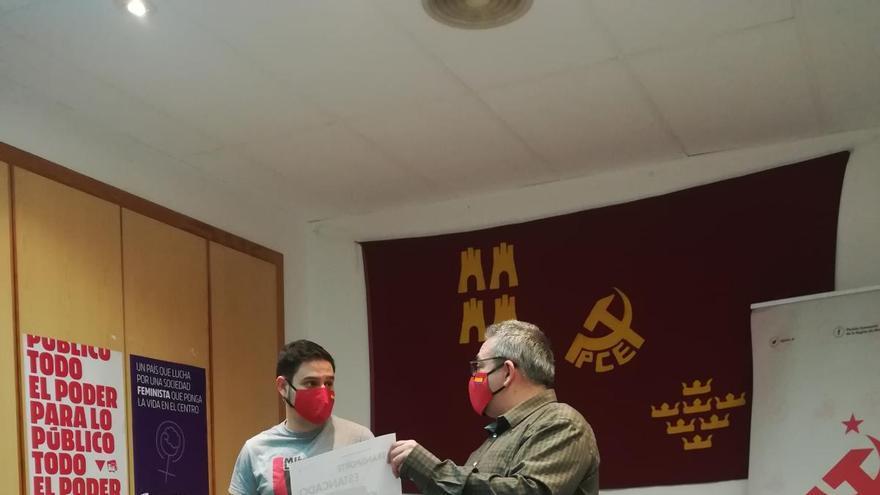 El Partido y la Juventud Comunista, en defensa del transporte público de la Región