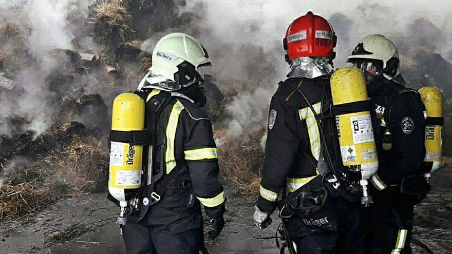 Los Bombers de Mallorca denuncian que  la nueva oferta pública es para «reposición»
