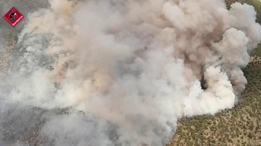 La Guardia Civil detiene al presunto autor del incendio forestal de Monóvar