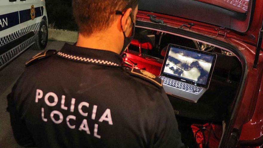 Diez botellones y fiestas en viviendas en el último operativo policial en Alicante
