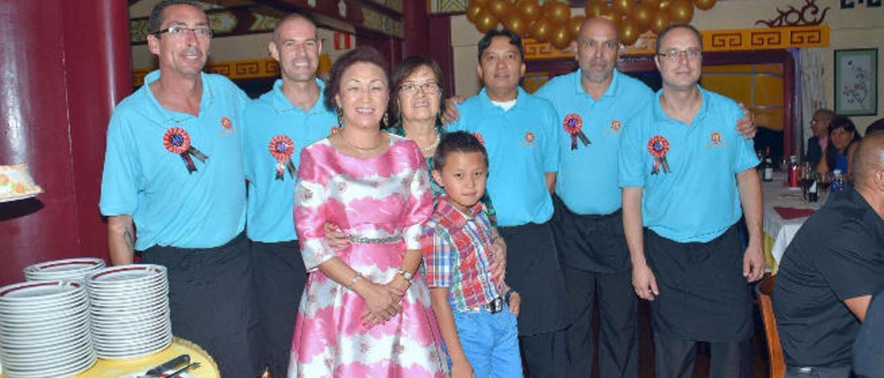 El restaurante de la familia Chang