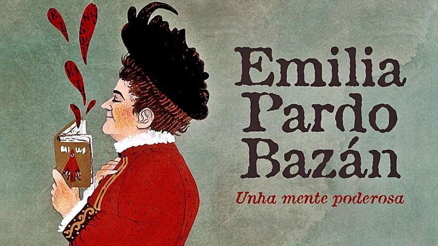 Dona Emilia debuxada para todos os públicos