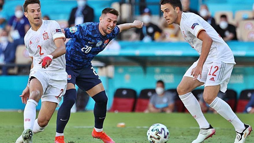 Eric Garcia debuta i Espanya jugarà en vuitens contra Croàcia