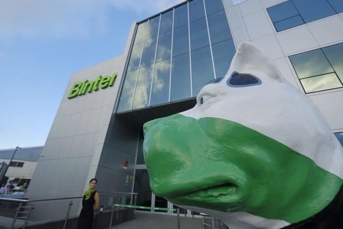 La aerolínea Binter Canarias inaugura sus ...