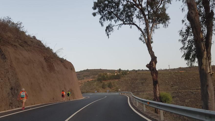 Teror mantendrá abiertas al tráfico este año las carreteras a la villa mariana