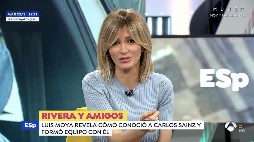 """Susanna Griso reprende a Fran Rivera: """"Sobraba la pregunta de cómo conducen las mujeres"""""""