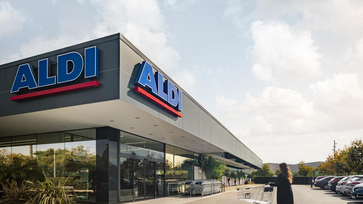 Una tienda de Aldi
