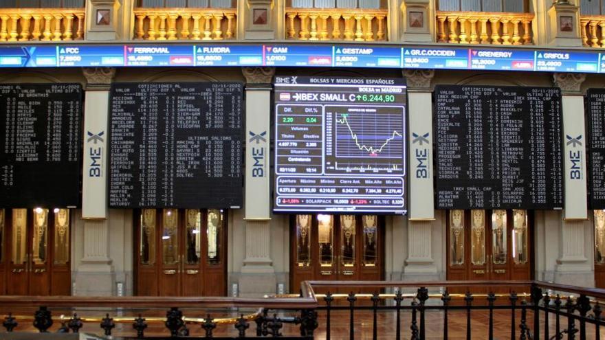 El Ibex 35 recupera los 6.500 puntos al subir más de un 2%