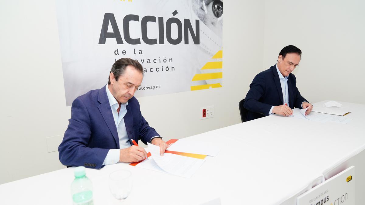 Ricardo Delgado Vizcaino y José Carlos Gómez Villamandos, en la edición del 2020.