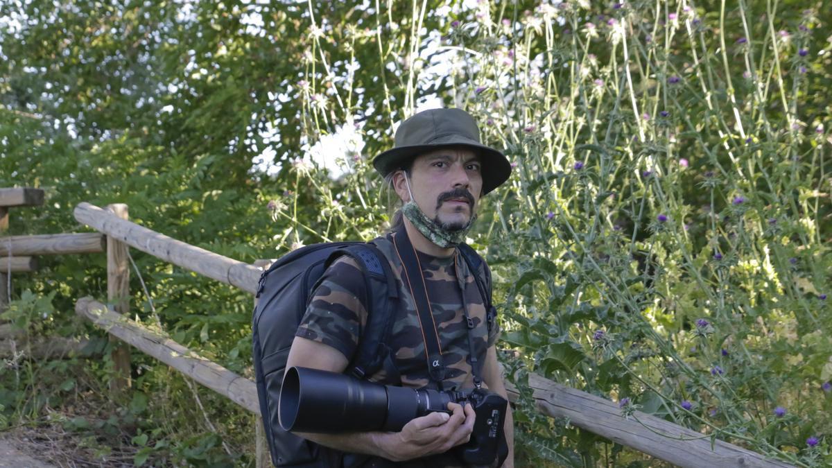 Rubén Asenjo Martín, fotógrafo de aves.