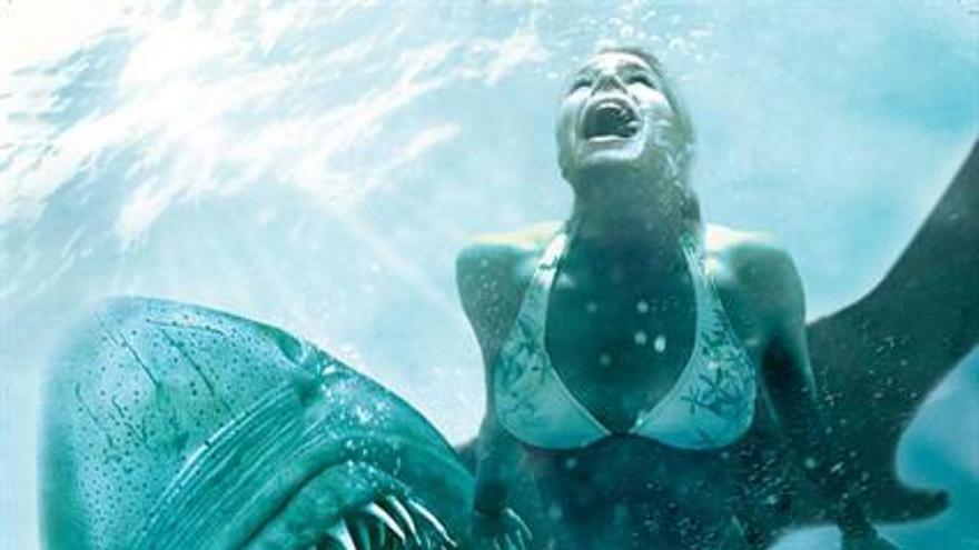 Tiburón 3D, La Presa