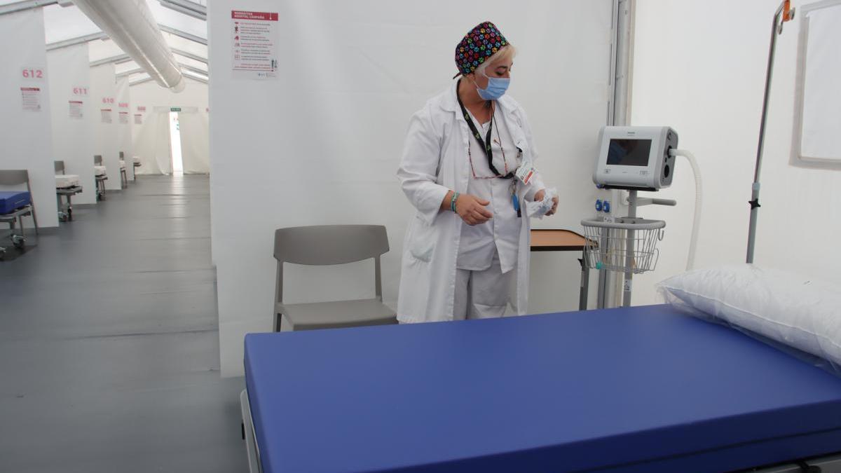 """SOS de los sanitarios: """"No queda casi espacio en los hospitales de Castellón"""""""