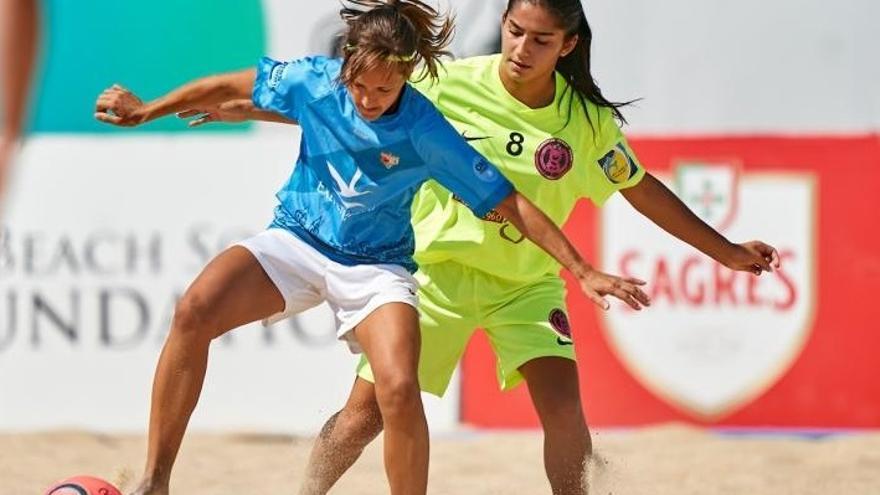 El Cacereño Femenino disputa la Copa RFEF de fútbol playa