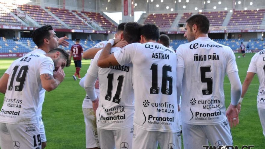 El Zamora CF se impone al Pontevedra en Pasarón