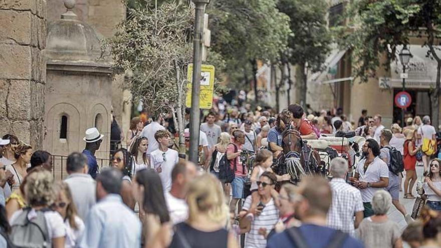 Weniger September-Urlauber auf Mallorca