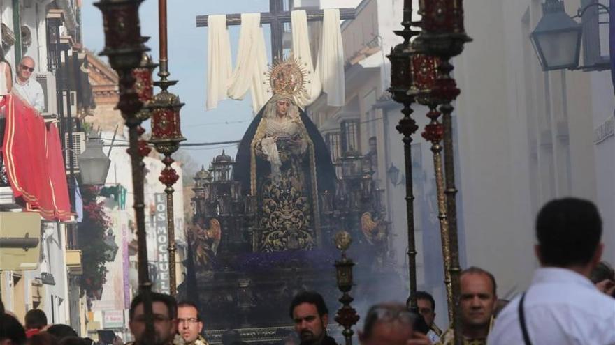 La Soledad suspende el traslado en procesión a Franciscanos