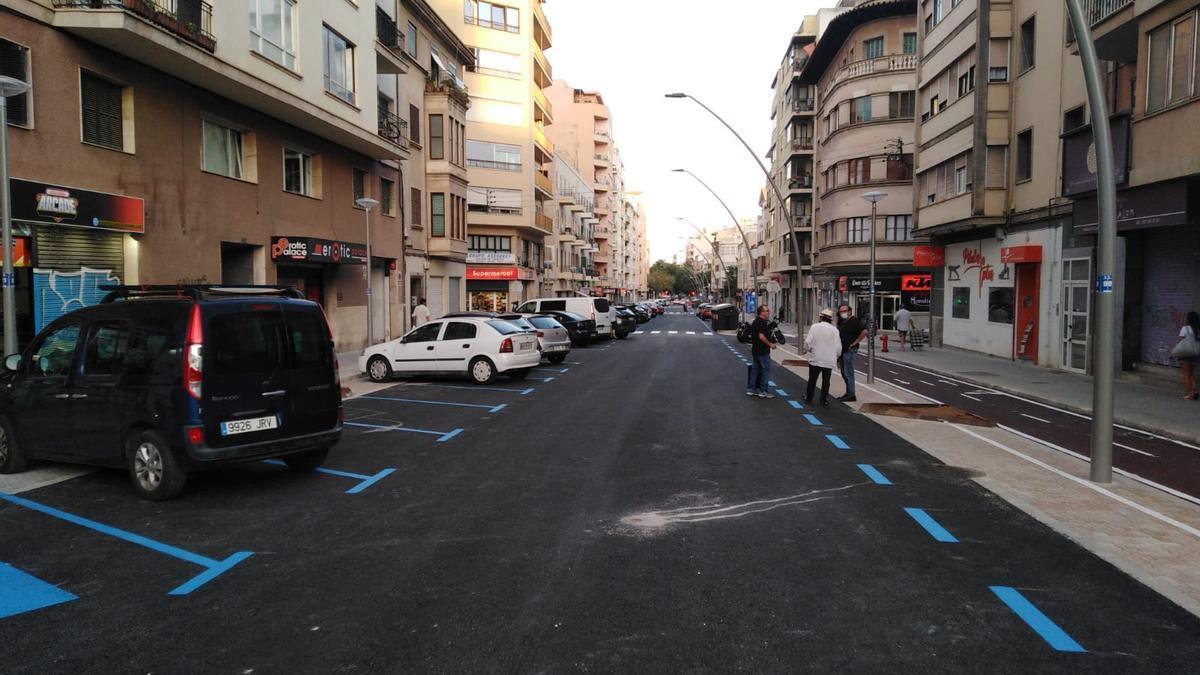 Reabierta la circulación en la calle General Ricardo Ortega