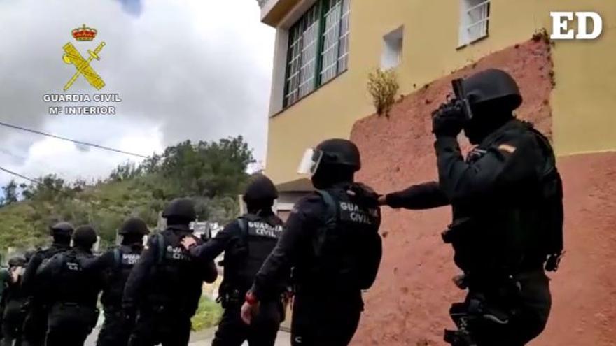 Desarticulada una organización criminal por robos con fuerza en Canarias