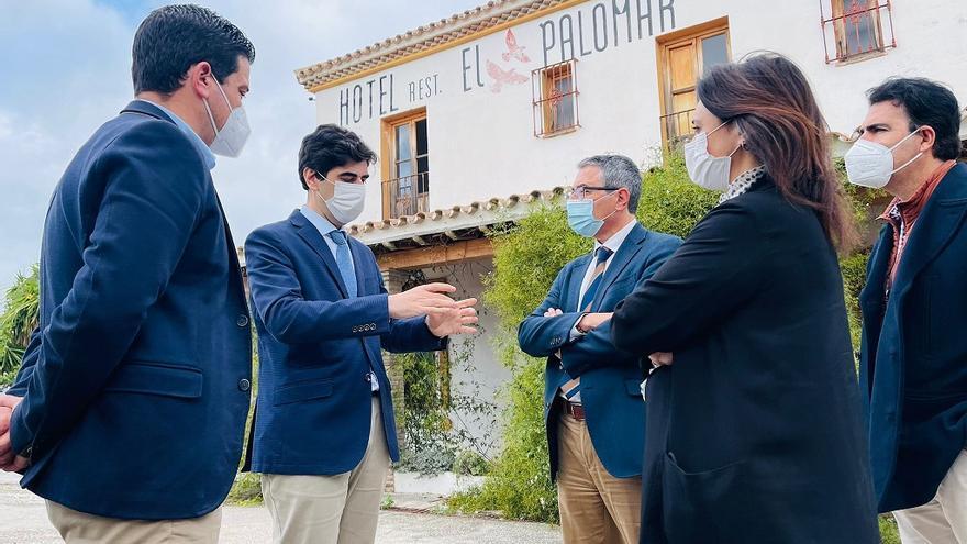 La Diputación invertirá 193.000 euros en reformar como albergue el antiguo hotel El Palomar de Coín