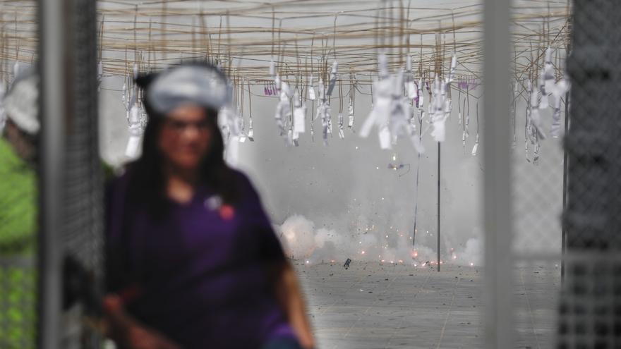 Revive la mascletà a cargo de la pirotecnia Reyes Martí