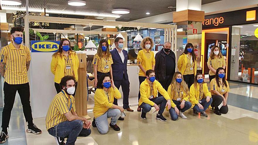 Ikea tiene servicios de asesoramiento y diseño para reformas en el Centro Comercial Ponte Vella