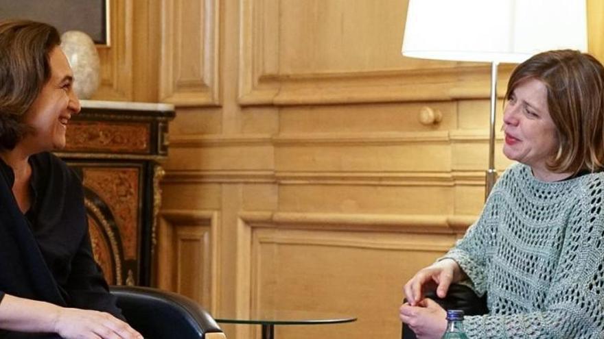 """Taboada defiende el """"municipalismo del cambio"""" con Colau"""