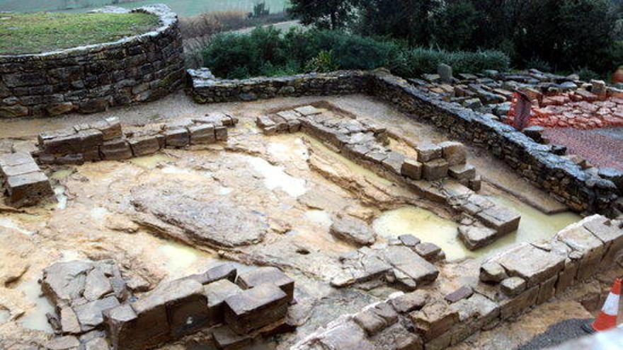 Ullastret presenta un estudi fet amb radar geofísic sobre les restes d'una illa del poblat iber