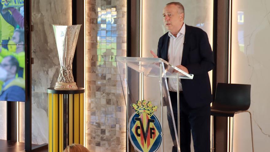 """El ambicioso proyecto de Roig para la temporada del Villarreal: """"Aspiramos a lo máximo"""""""