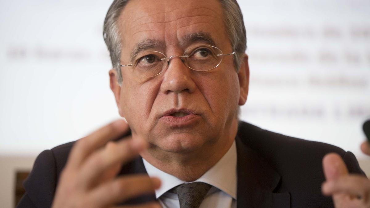 El catedrático de Derecho Constitucional de la Universitat de València, Vicente Garrido Mayol.
