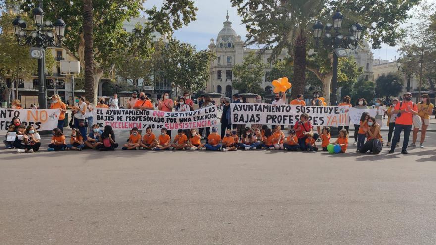 El Fernando de los Ríos protestará todos los días hasta que se suplan los dos docentes pendientes