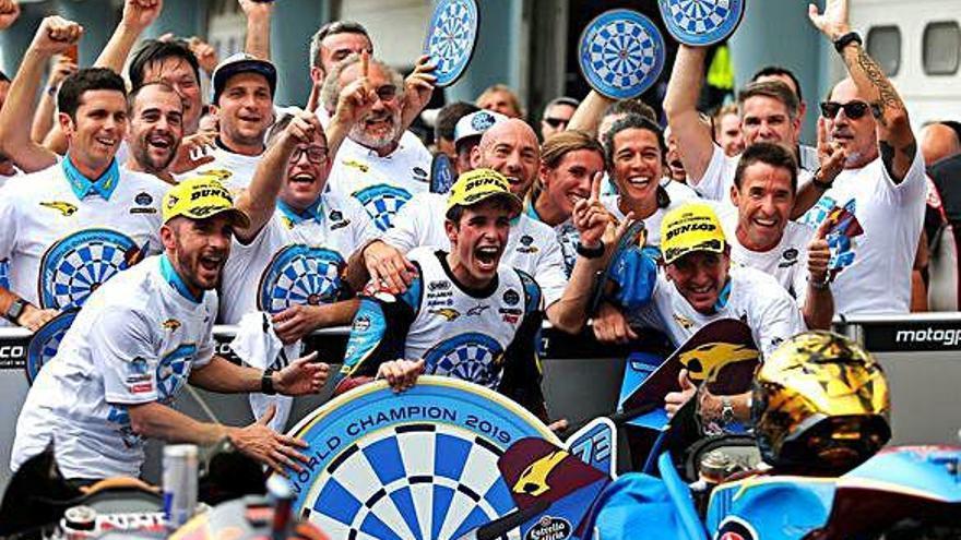 Àlex Márquez es proclama campió de Moto2 a Malàisia amb un segon lloc