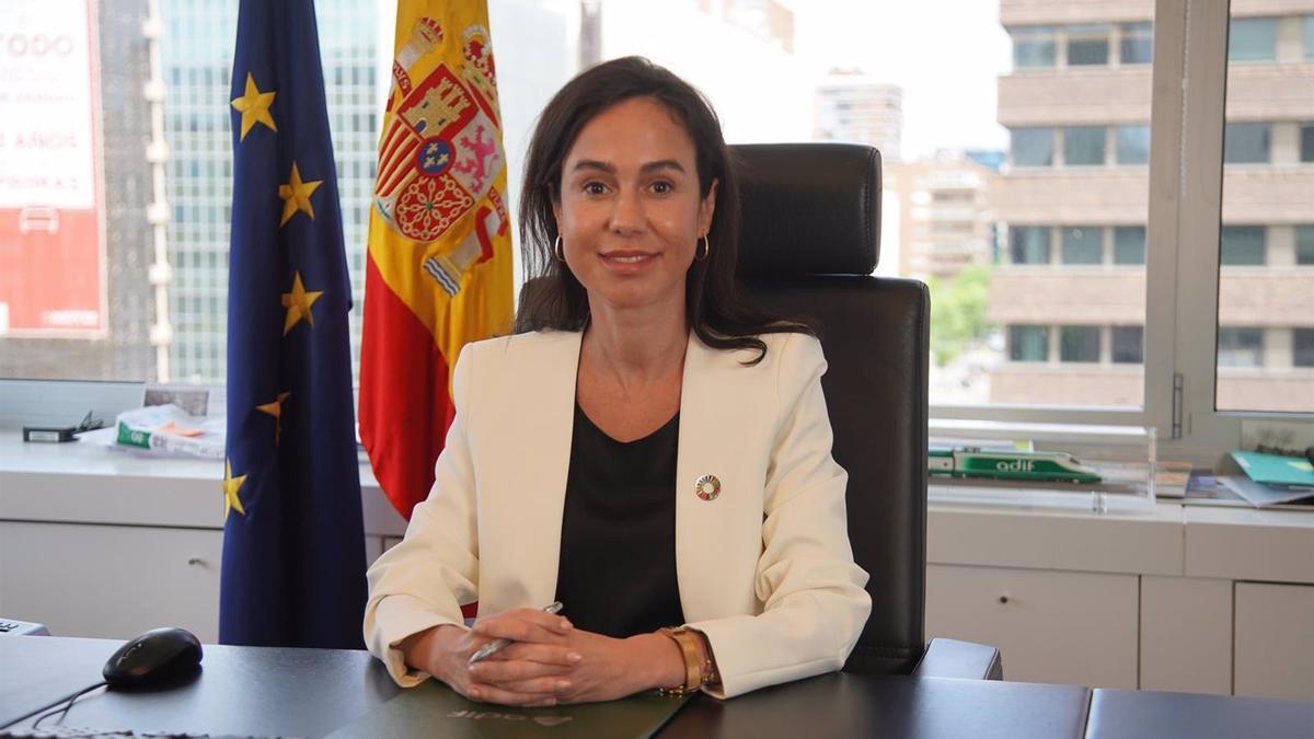 La presidenta de Adif, Isabel Pardo de Vera.