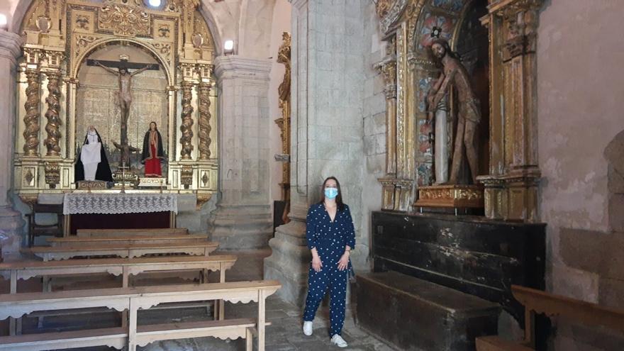 La ermita de San Cayetano abre sus puertas para conmemorar el año jacobeo