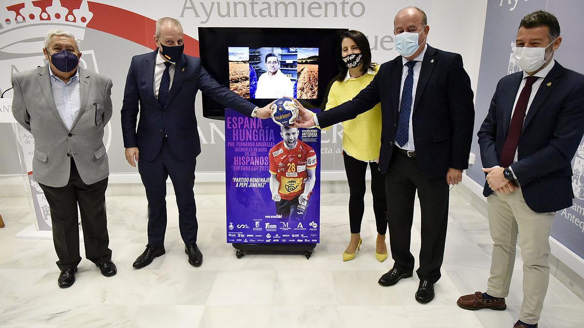Imagen de la presentación del partido.