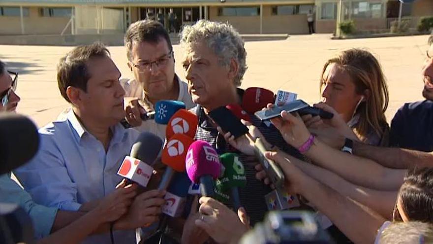 Villar, al salir de la cárcel: ''Gracias a los que han confiado en mí''