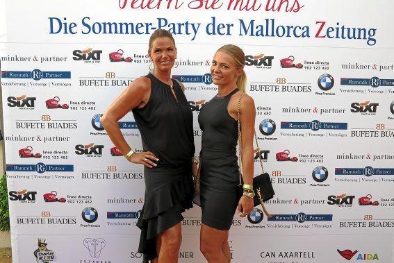 Kathrin Bösch und Nadja Schwinning