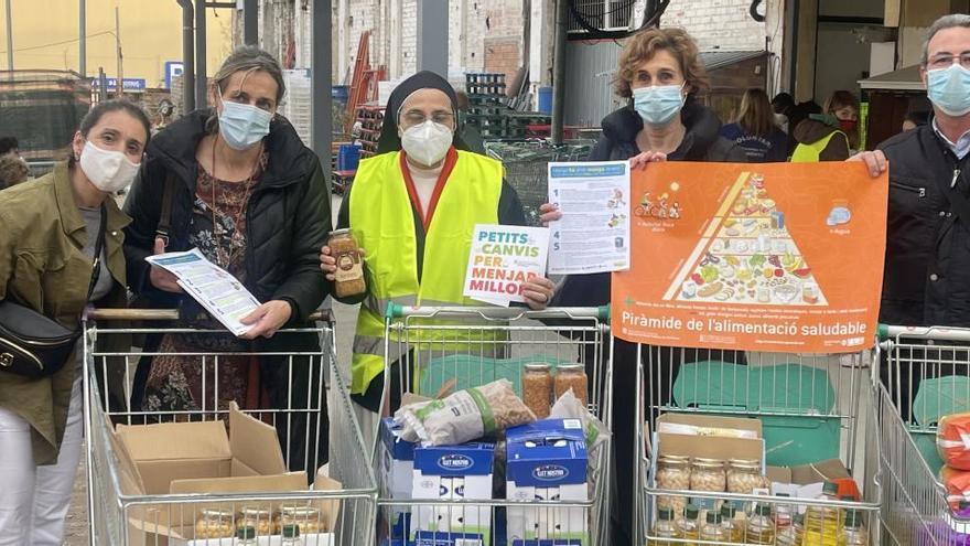 Salut Pública destina diners de la loteria de Nadal per la Plataforma d'Aliments del Convent de Santa Clara
