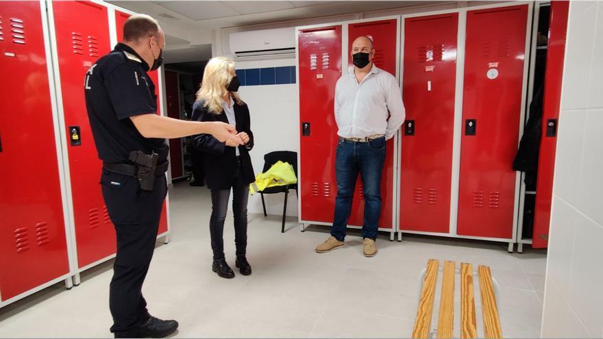 Reforma de los vestuarios de la Policía de Santa Eulària