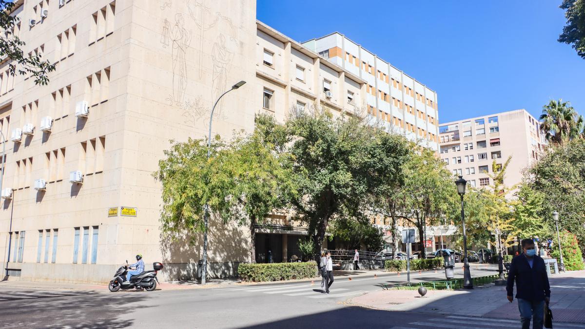 Edificio de la Audiencia Provincial de Badajoz.