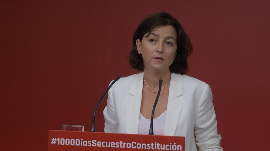 Eva Granados: la número dos del PSC da el salto a Madrid