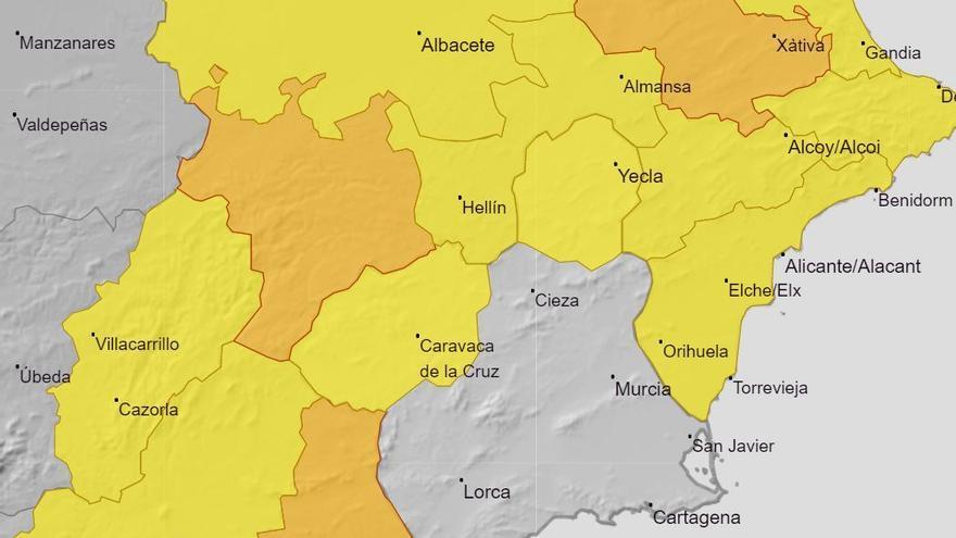 Aviso amarillo por vientos de hasta 70 km/h en el Noroeste y el Altiplano