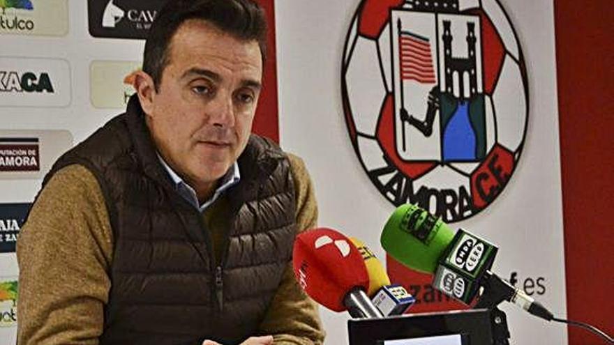 César Villafañe, secretario técnico, del Zamora CF.